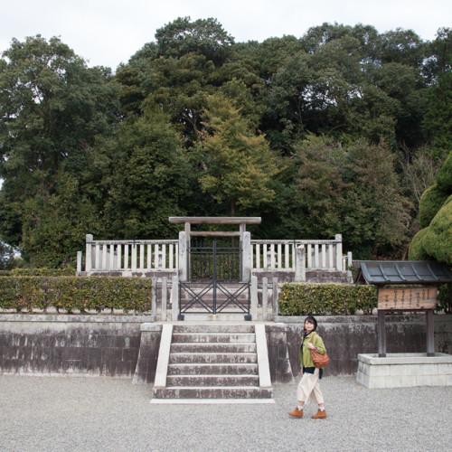 天武・持統天皇陵(檜隈大内陵)