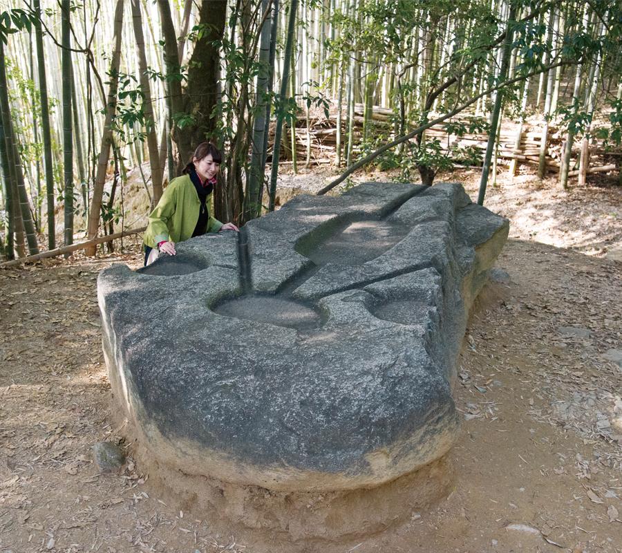 酒船石遺跡(亀形石造物)